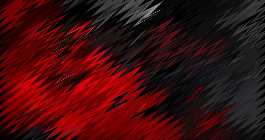 Red And Black Abstract 4K Wallpaper